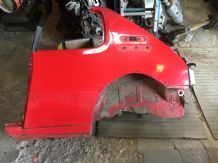 peugeot 205 1.6 / 1.9 gti Passenger N/s/r Quarter Panel Cut Red